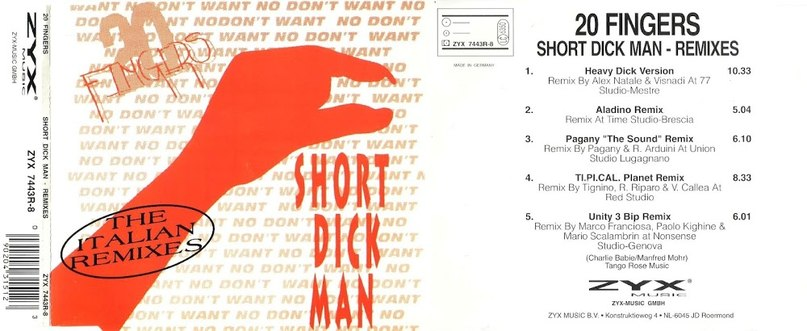 Short dick man 20 fingers